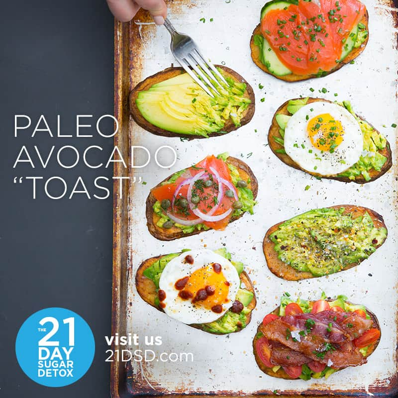 "Paleo Avocado ""Toast"" 