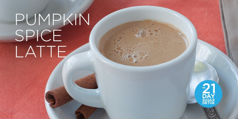 Pumpkin Spice Latte Recipe | The 21-Day Sugar Detox