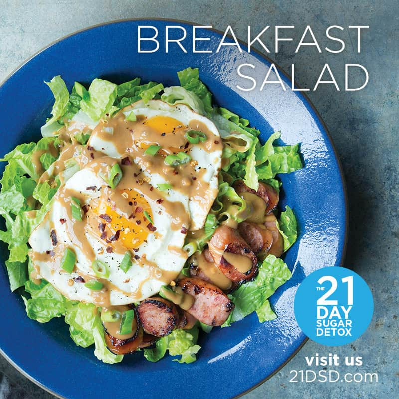 Breakfast Salad Recipe | The 21-Day Sugar Detox